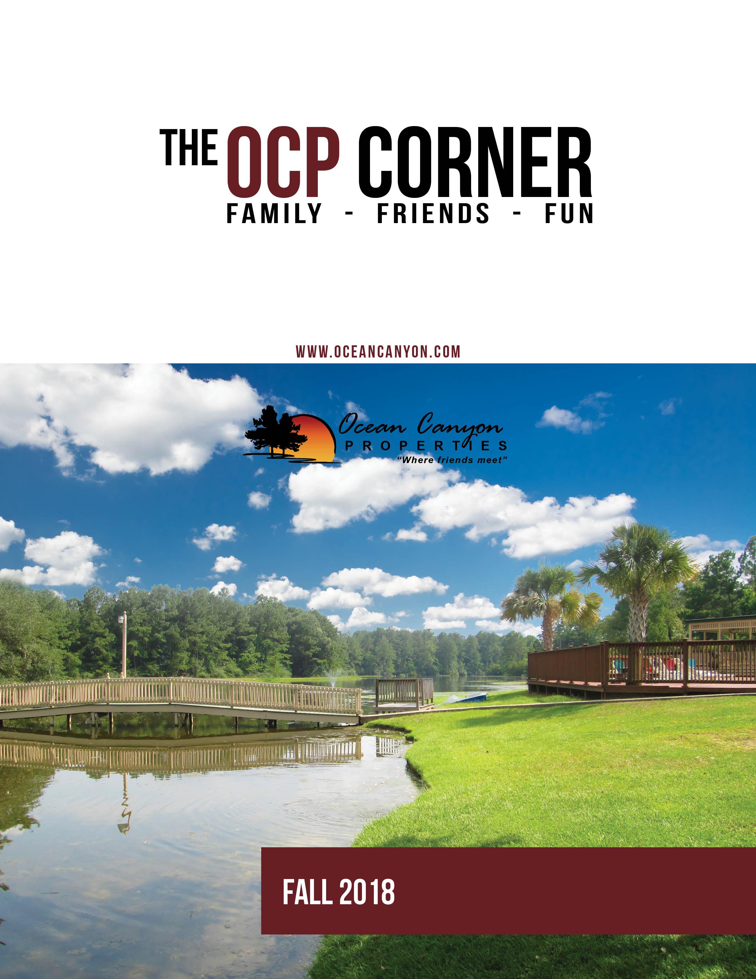 OCP Corner - Fall 2018