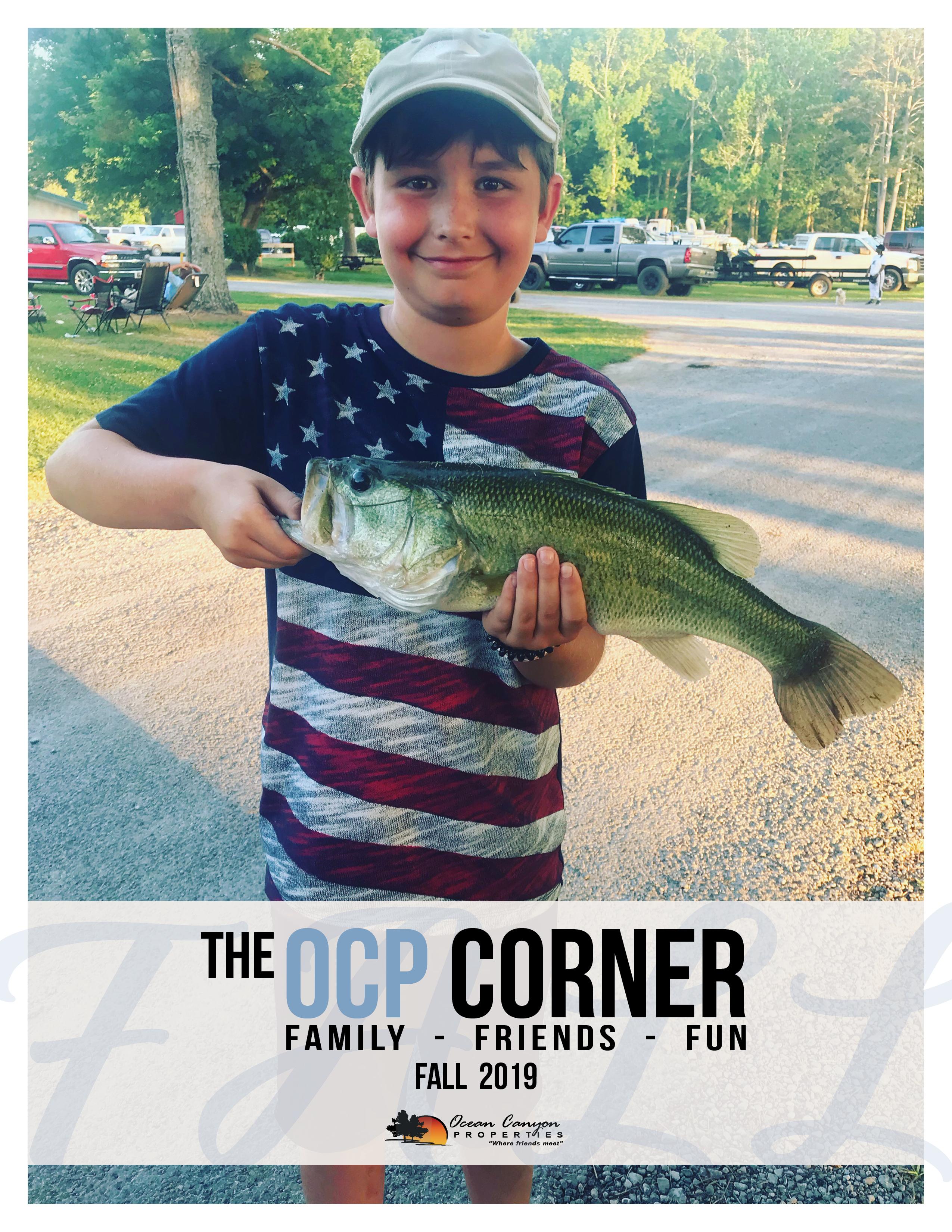 OCP Corner - Spring 2019